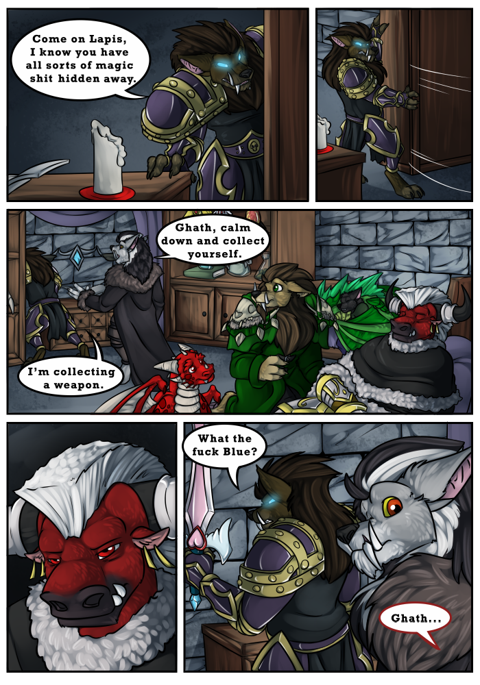 Druids Comic - An Adult Furry Webcomic - Get Out