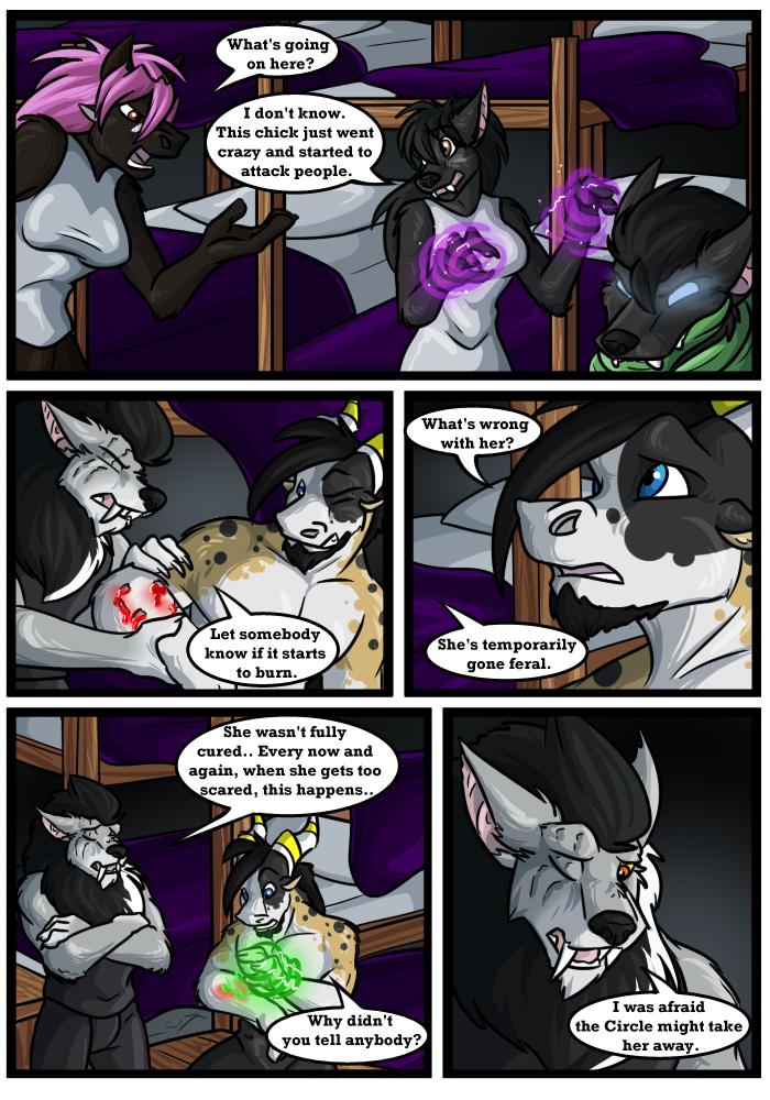 Druids Comic - An Adult Furry Webcomic - Dual Wielding